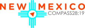 Logo for Compass 28:19 Short term missions trip to  New Mexico