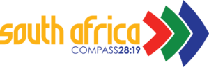 Logo for Compass 28:19 Short term missions trip to  South Africa