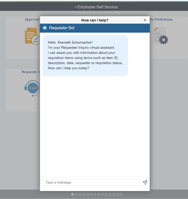 Requisition Chatbot - Image 2