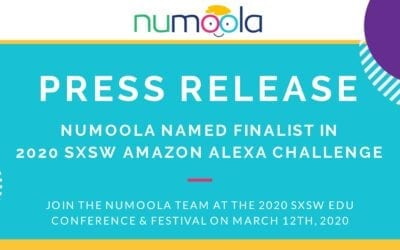NUMOOLA SELECTED TO PRESENT NEW AMAZON ALEXA SKILL AT SXSW