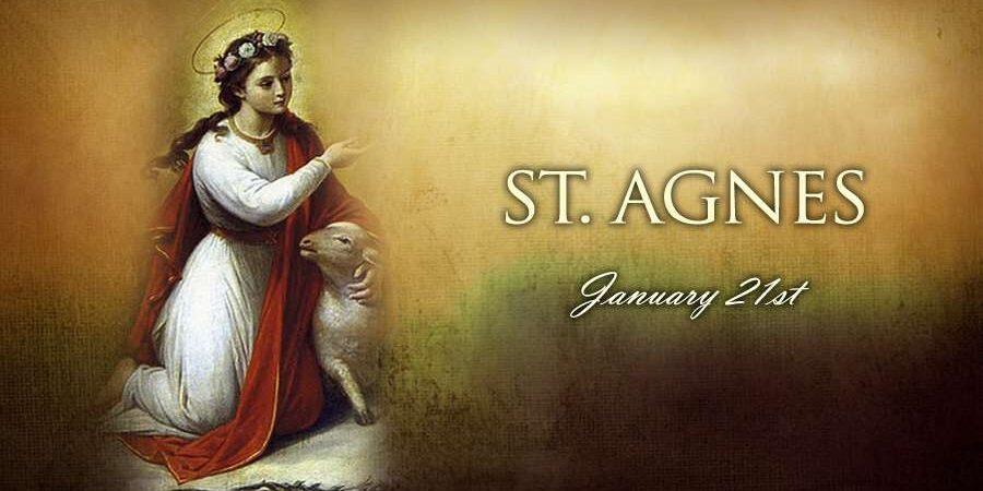 Saint Agnes © CNA. Read a brief biography from CNA https://www.catholicnewsagency.com/saint/st-agnes-123