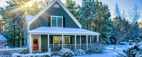 house, snow, tax lien, tax, irs, strategic tax resolution