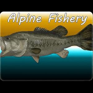 Alpine Fishery black bkgd