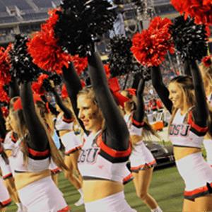SDSU Cheerleaders