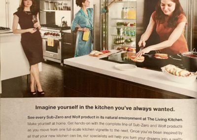 zub zero kitchen ad, walker brandt ads