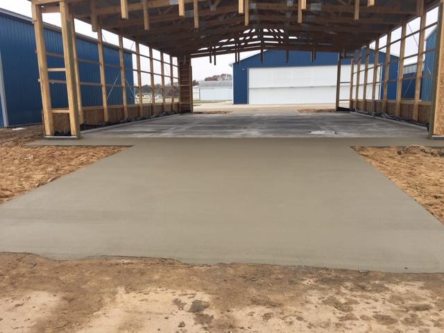Barn foundation