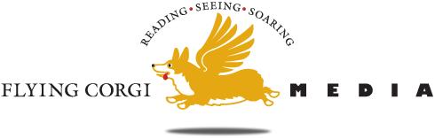 Flying Corgi Media Logo
