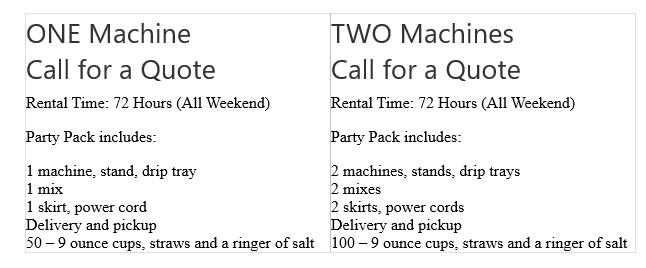 frozen-drink-machine-rental-spec