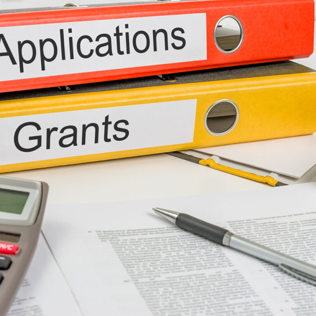 Folders with the label Applications and Grants
