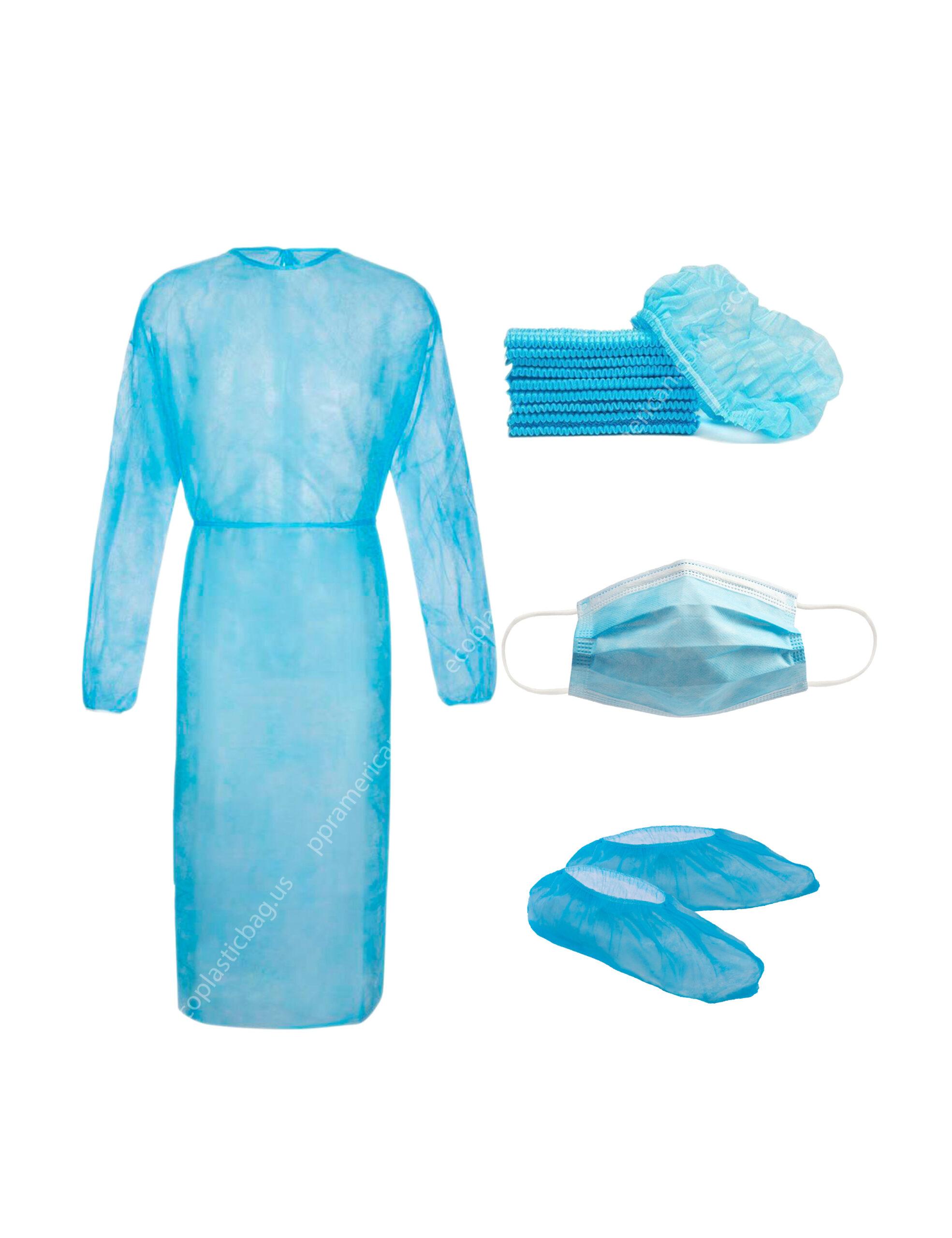 Non-woven disposable protective