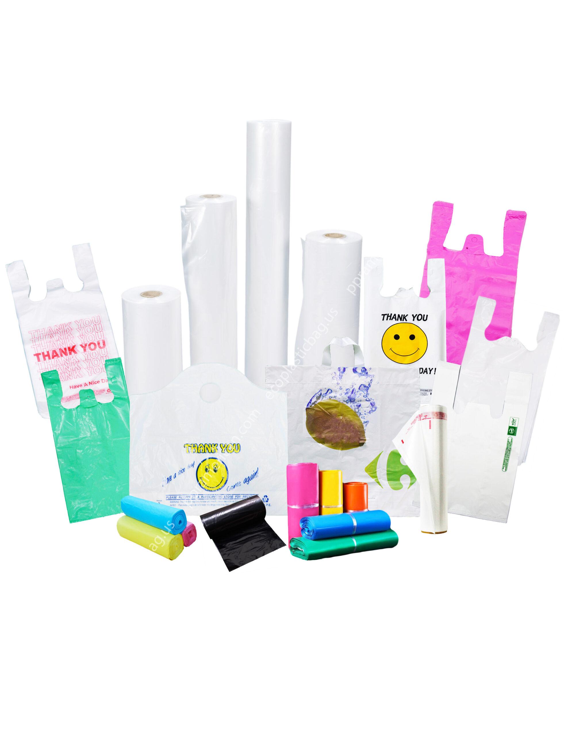 Plastic bag & Bio bags