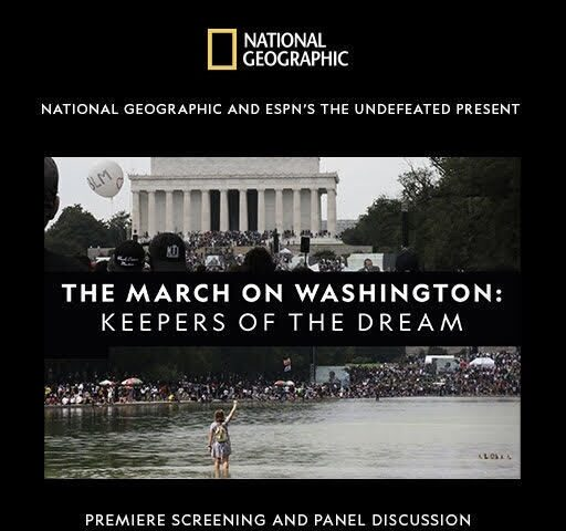 Screening: March On Washington: Keepers Of The Dream