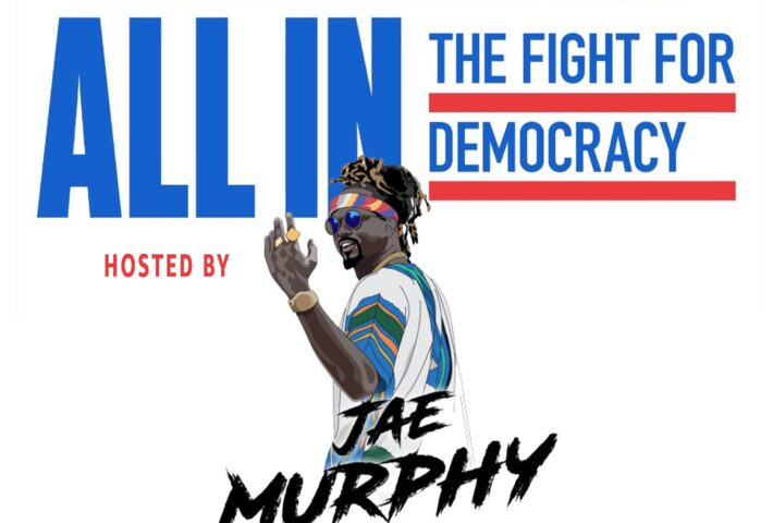 ALL IN: Virtual Voter Registration Pep Rally