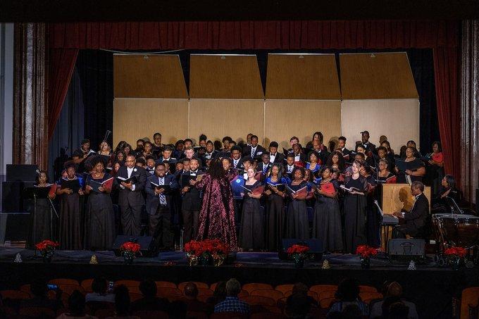 NCCU's University Choir Presents Music Under The Stars