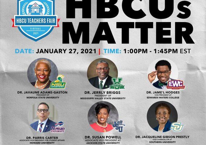 HBCUs Matters Panel