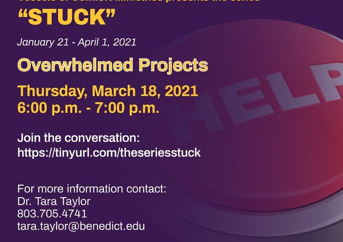 "Overwhelmed Projects – Part of The ""Stuck"" Series"