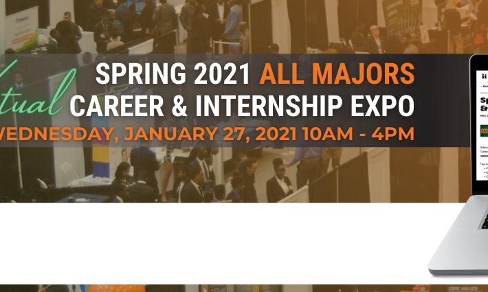 FAMU Spring 2021 All Majors Career & Internship Expo