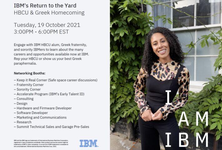 IBM Return to the Yard Homecoming
