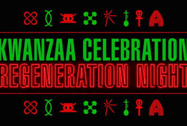 Kwanzaa At The Apollo: Regeneration Night