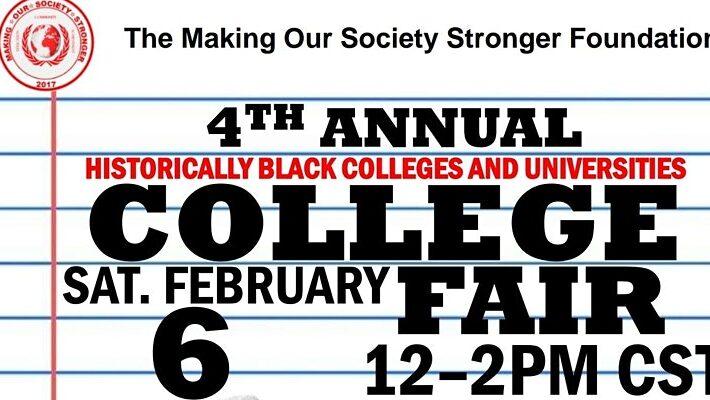 The MOSS Foundation's 4th Annual HBCU Virtual College Fair