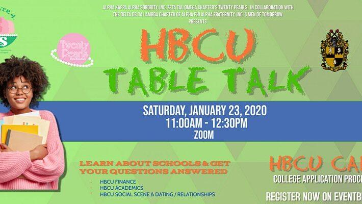 HBCU Table Talk