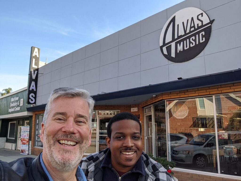 Alvas Showroom-Music Jan 17th, 2020 San Pedro  with the Garden District Band
