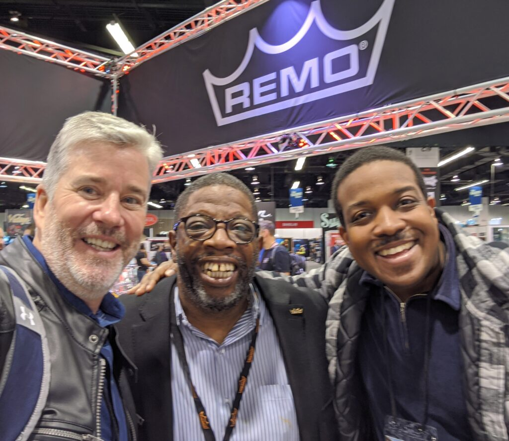 NAMM 2020, Garden District Band, David W. Hansen, Jordan Baker, Chris Hart REMO