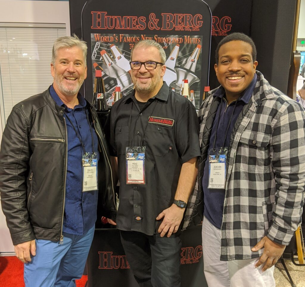 NAMM 2020 Humes & Berg, Mike Berg, Garden District Band, David W. Hansen, Jordan Baker