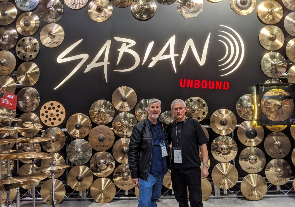 NAMM 2020 SABIAN Garden District Band David W. Hansen