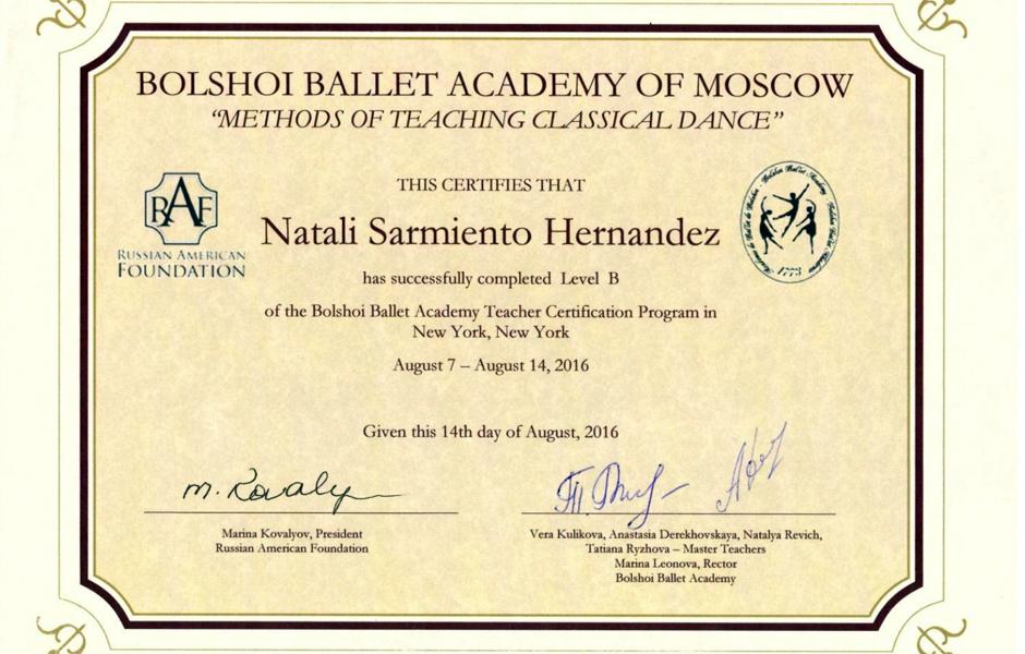 Natali Sarmiento Awards 4