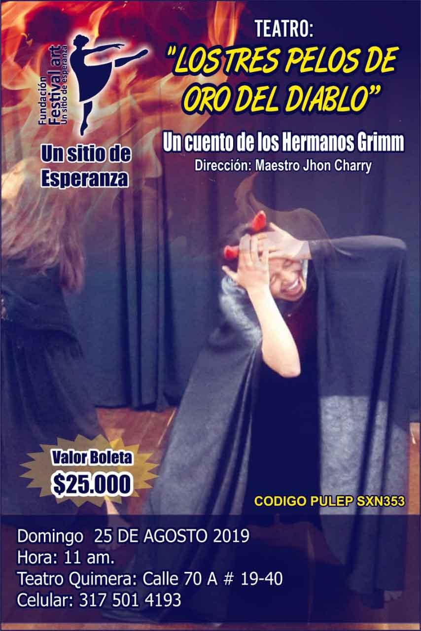 Teatro Festival Art Los Tres Pelos Del Diablo
