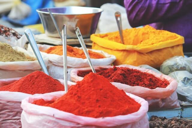 épices marchés inde