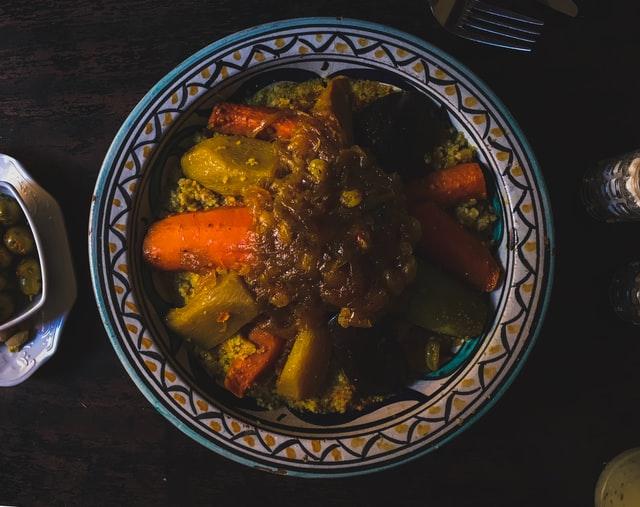 nourriture maroc