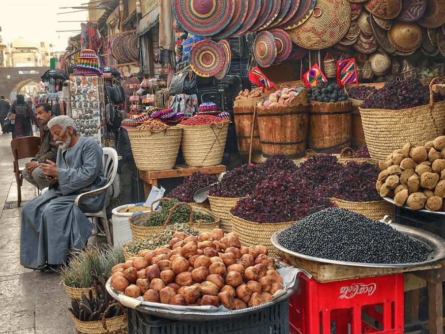 souk aswan egypt