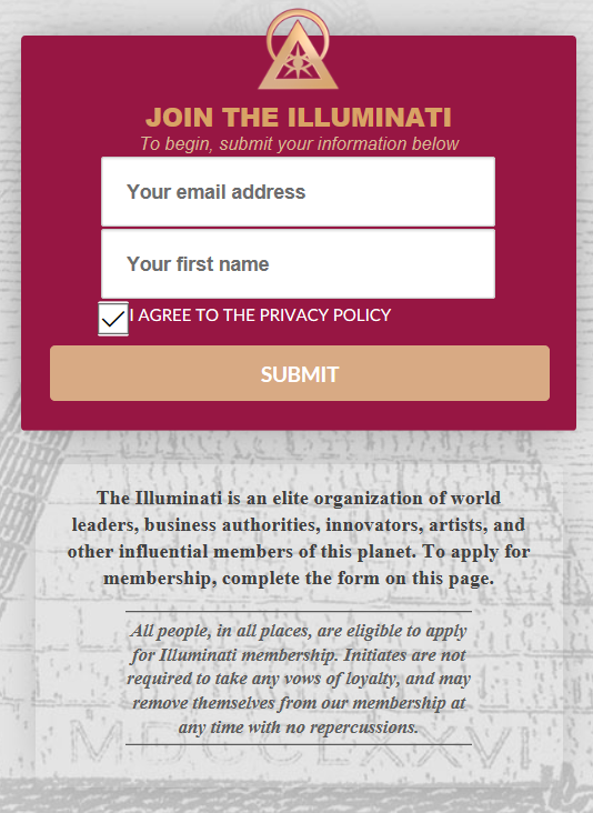 Submit your info