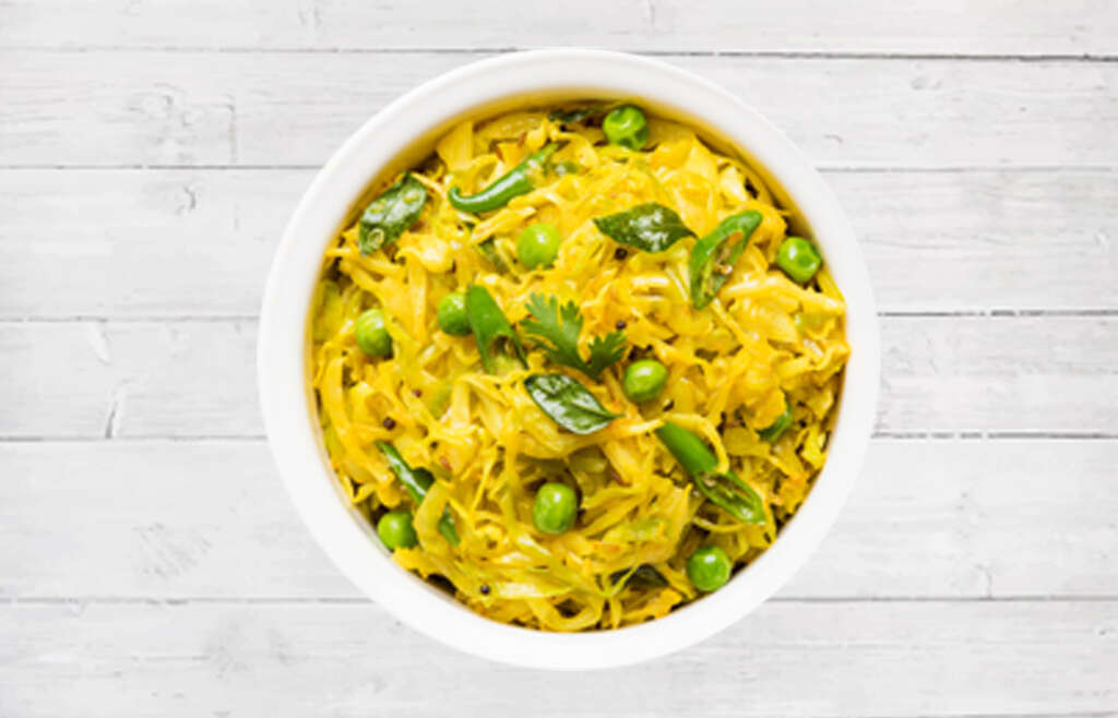Spiced Cabbage (quick and easy)