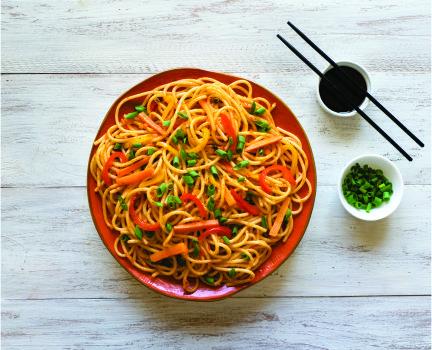 Street food hakka noodles_1
