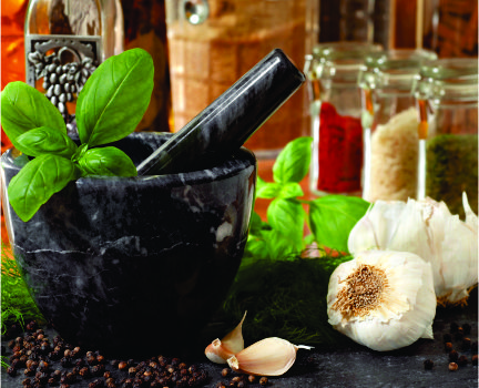 spice up your cabinet_A mortar and pestle is always handy