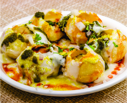 street food_dahi puri