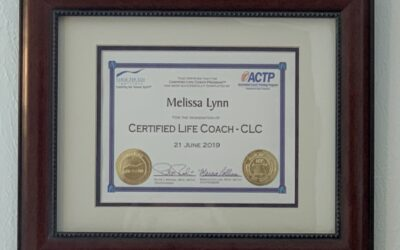 Becoming a Certified Motivational Life Success Coach.