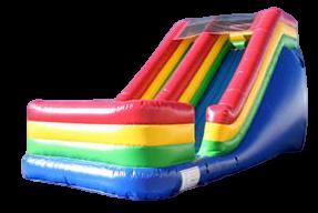 14' Single Lane Dry Slide