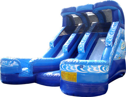 Double Divide Water Slide