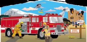 Fire Truck Panel