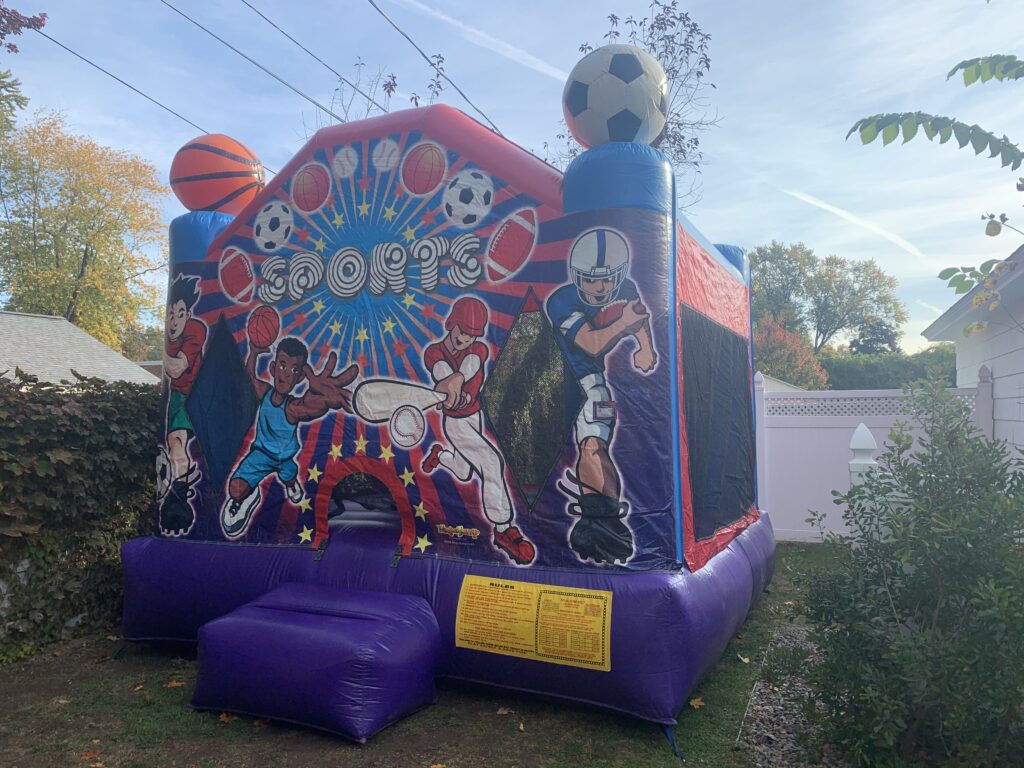Sports Themed Bounce House Queensbury, NY