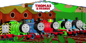 Thomas The Train Art Panel