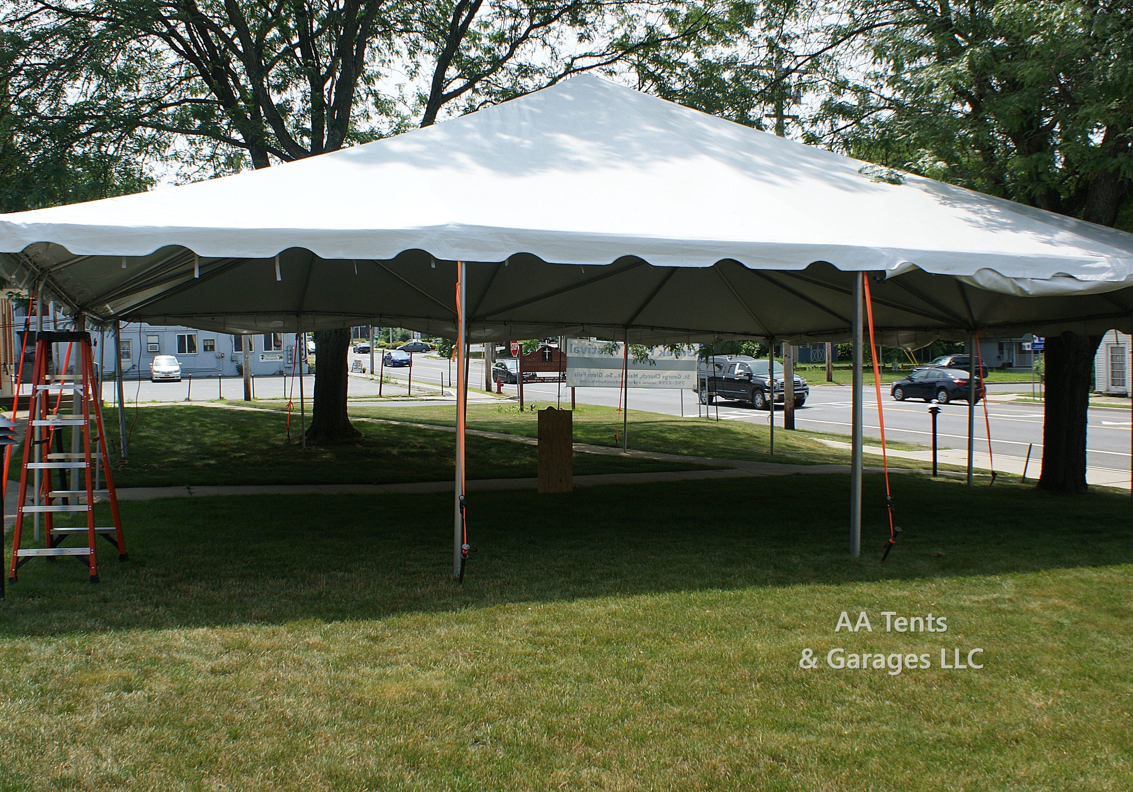 Greek Festival 40' x 40' Frame Tent