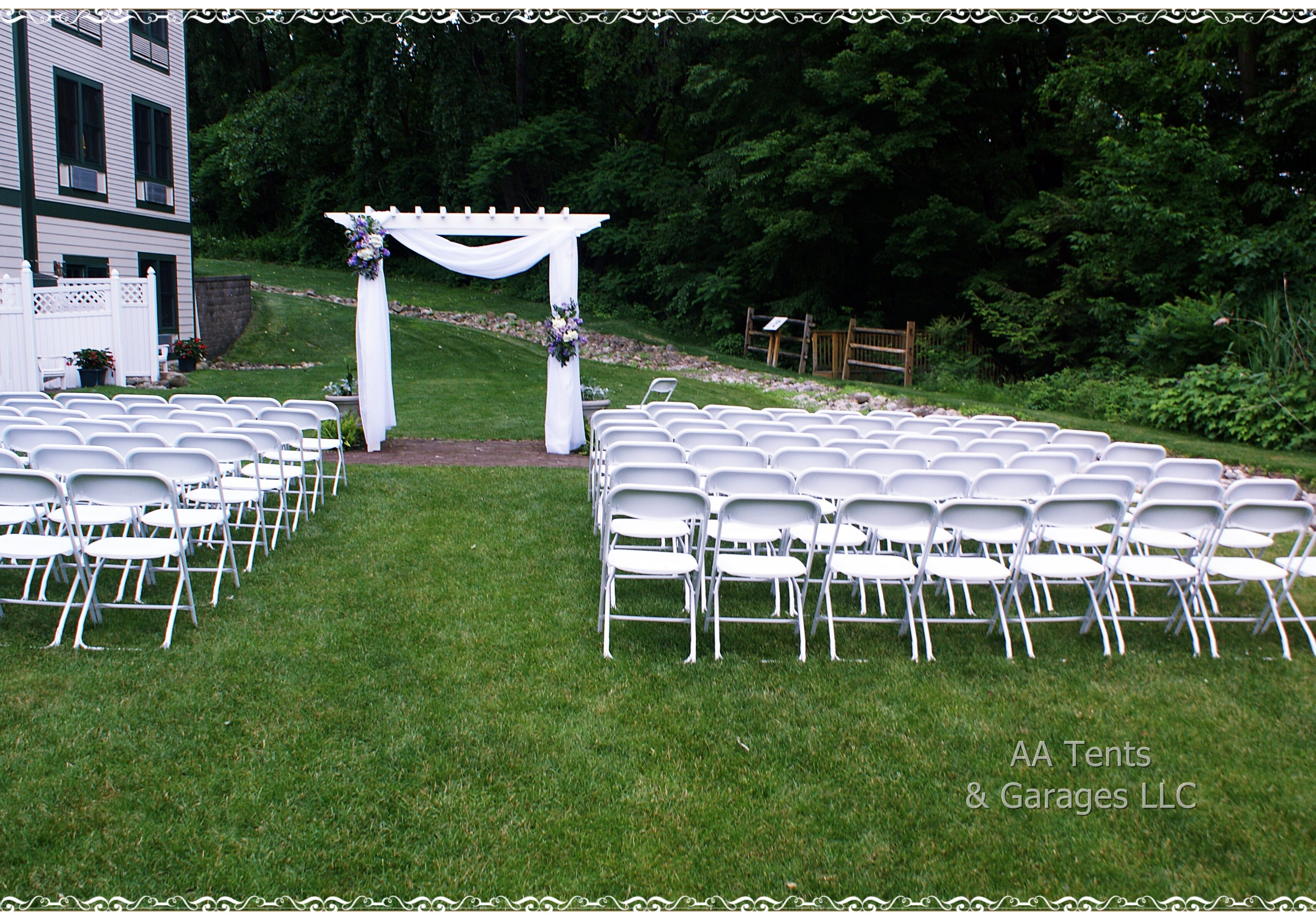 Wedding Chair Set Up Saratoga Springs NY