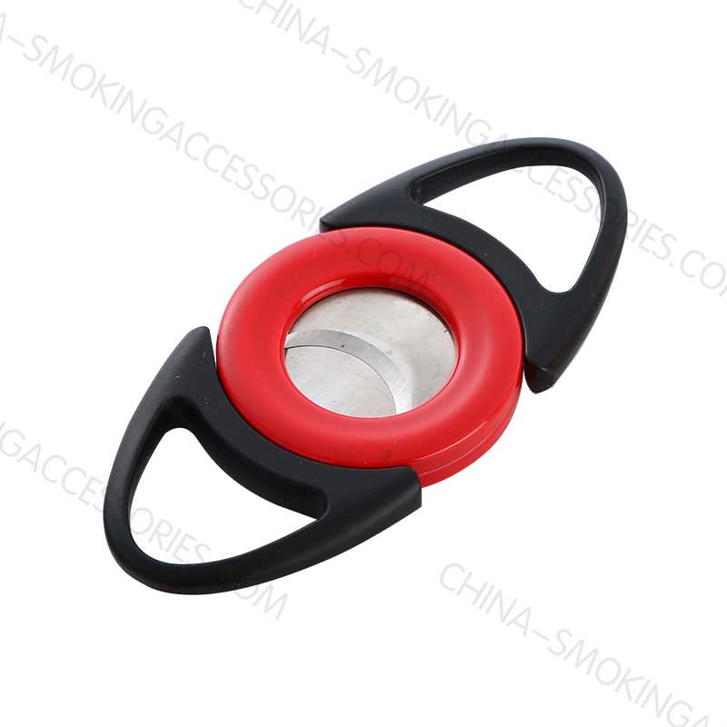 Double Blade Metal Cigar Cutter Stainless Steel C001