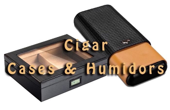 Cigar Cases & Humidors