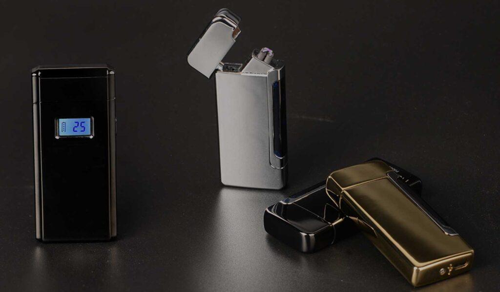 usb battery lighter double ARC battery lighters factory